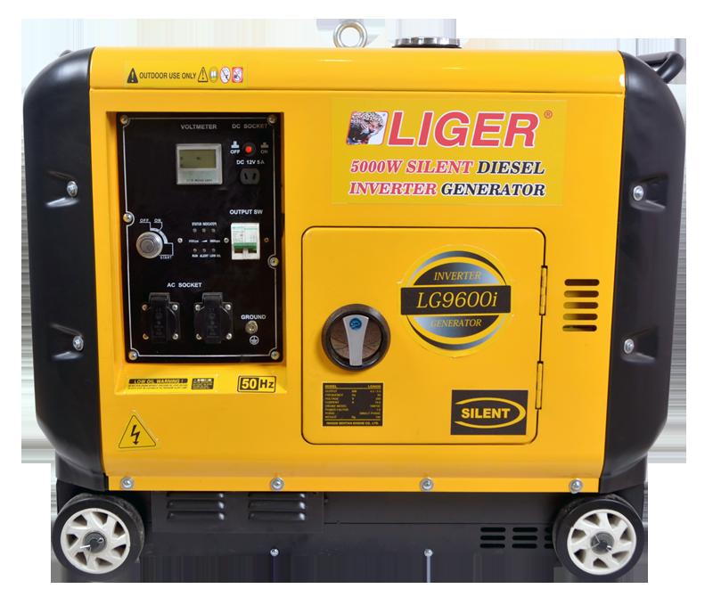 Diesel inverter generator