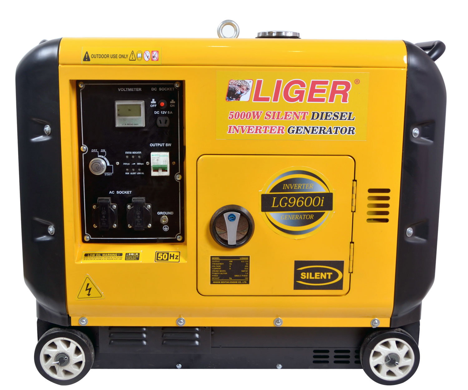 LG9600i Air-cooled Silent Diesel Generator